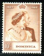 DOMINICA 1948 - Key Value Michel #121 - *MLH*
