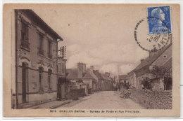 CHALLES - Bureau De Poste Et Rue Principale    (79090) - Other Municipalities
