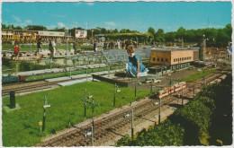 PAYS BAS DEN HAAG 1960 ? MINIATUURSTAD MADURODAM DEN HAAG CENTRAAL STATION  ANIMEE ED REMBRANDT 15 TBE - Den Haag ('s-Gravenhage)