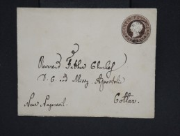 """GRANDE-BRETAGNE-INDE-Entier PostalL Obl. """"Expérimental P.O. 1893 """" Pour Inde  Joli Cachet Au  Verso à Voir Lot P6938 - 1882-1901 Empire"""