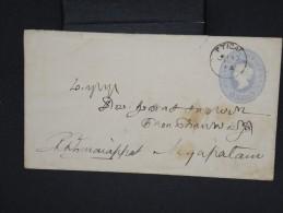 GRANDE-BRETAGNE-INDE-Entier Postal  Voyagé En1894 à Voir Lot P6939 - 1882-1901 Empire
