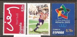 España/Spain-(MNH/**) - Edifil 4156-58  - Yvert  3743-45 - 1931-Hoy: 2ª República - ... Juan Carlos I