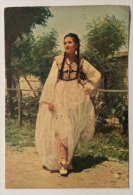 Costume Di Tirana Viaggiata Anni 40 Formato Grande - Costumi