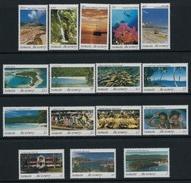 1993 VANUATU - Tourisme 16v., Landscapes ,scenery ,people, Fish, Boat, Geology Mi 922-934 MNH - Vanuatu (1980-...)