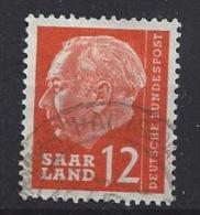 Germany (Saarland) 1957 (o) Mi.387 - 1957-59 Federation