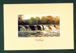 LATVIA  -  Kuldiga  Rumba In Spring  (Waterfall)  Used Postcard As Scans - Latvia