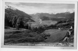 Blick Vom Höhenluftkurort Mösern Auf Oberrinntal - Österreich