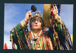 RUSSIA  -  Shaman  Used Postcard As Scans - Religions & Beliefs