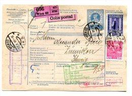 Austria Begleitadresse 1916 Mit Perfin EN - Usati