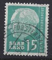Germany (Saarland) 1957 (o) Mi.388 - 1957-59 Federation