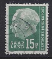 Germany (Saarland) 1957 (o) Mi.415 - 1957-59 Federation