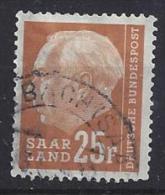 Germany (Saarland) 1957 (o) Mi.418 - 1957-59 Federation