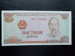 VIETNAM -200 DONG -1987- UNC - Vietnam
