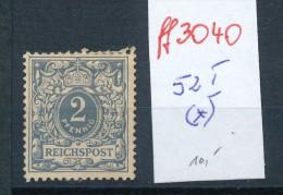 Deutsches Reich Krone Adler Nr. 52 I  *   ( Ff3040 ) Siehe Scan! - Alemania