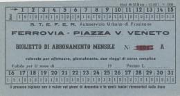 QX943 ITALY STEFER Ferrovia - Piazza - Railway