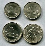 3466 - KUBA - Cuba - Besucher-Münzen / Visitor´s Coinage - 5,10,25 (2) - Intur Carribean - Kuba