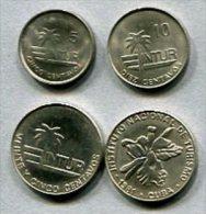 3466 - KUBA - Cuba - Besucher-Münzen / Visitor's Coinage - 5,10,25 (2) - Intur Carribean - Kuba
