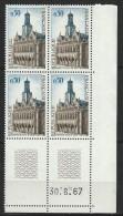 """Coins Datés  YT 1499 """" Saint-Quentin """" 1966-67 Neuf** Du 30.6.67 - 1960-1969"""