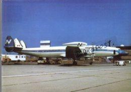 Lockheed L-1049h Costellation Air NORDAIR CANADA Airlines L 1049 Avion L1049 Aircraft Aviation Aiplane L.1049 Nord Air - 1946-....: Moderne