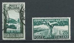 Italie - 1951 - Y&T 618 (Oblit.) - 619 (N**) - 6. 1946-.. Republic