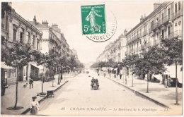 71. CHALON-SUR-SAONE. Le Boulevard De La République. 26 - Chalon Sur Saone