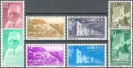 ESPAÑA/MARRUECOS 1956 - Edifil #1/8 ** (Zona Norte) - Precio Cat. €31.75 - Maroc Espagnol