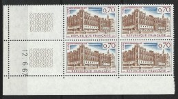 "Coins Datés  YT 1501 "" Saint-Germain-en-Laye "" 1966-67 Neuf** Du 12.6.67 - 1960-1969"