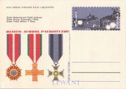 W POLAND - 1971.02.03. Cp 467 City - Symbols Of Patriotism Warsaw - Stamped Stationery