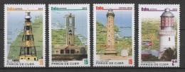 C* (2010) Yv. 4873/76  /  Leuchtturm - Faro - Phare - Lighthouse - Vuurtorens