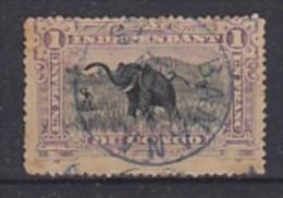 Onafhankelijke Staat Congo 1894 1Fr Gestempeld (bruin!!!) Aangeboden Zoals De Zegel Is (22568) - Belgisch-Kongo