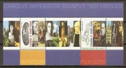 CELEBRIDADES/CARLOS V - HOLANDA 2000 - Yvert #H63 - MNH ** - Familias Reales
