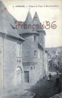 (19) Uzerche - Chateau De Tayac Et Rue De La Justice - 2 SCANS - Uzerche