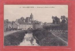 DOL DE BRETAGNE - 35 - ARRIVEE PAR LA ROUTE DE SAINT-MALO - ANIMATION - Dol De Bretagne