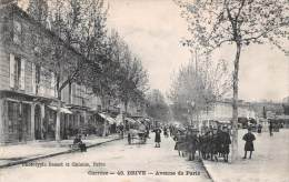 (19) Brive La Gaillarde - Avenue De Paris - 2 SCANS - Brive La Gaillarde