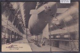 "Epinal : Dirigeable ""Capitaine Ferber"" Dans Son Hangar ça 1913 (13´570) - Dirigibili"
