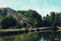 MUR-de-BRETAGNE Et SAINT-GILLES-VIEUX-MARCHE - Vallée De POULAUERE Et L'étang - Circulé 1976, 2 Scans - Saint-Gilles-Vieux-Marché