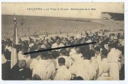 CPA - Veulettes - La Plage Le 15 Août - Bénédiction De La Mer - Altri Comuni