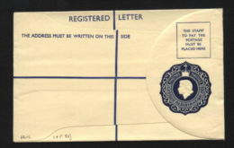 CYPRUS QUEEN ELIZABETH REGISTERED ENVELOPE-SCARCE! - Cyprus (...-1960)