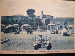 Francavilla A Mare Cattedrale Vista Dal Mare Usata 1937 - Italia