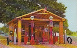 Florida Tampa Gus Hicks Antique Gas Station