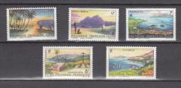 French Polynesia 1964,5V,set,landscapes,landschappen,Landschaften,paysages,paisajes,READ/LEES,MNH/Postfris(D2197) - Frans-Polynesië