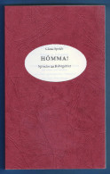 Hömma!,Sprache Im Ruhrgebiet,Claus Sprick,Europäisches Übersetzer-Kollegium Glossar Nr.3,Dialekt,Mundart, - Wörterbücher