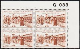 1978. Godthåb 250 Years. 2,50 Kr. 4-Block. G 033. (Michel: 110) - JF175164 - Zonder Classificatie