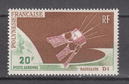 French Polynesia 1966,1V,satellite,satelliet,satellit,satélite,satellitare,MNH/Postfris(D2201) - Frans-Polynesië