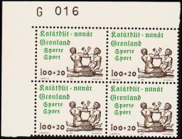 1976. Sports. 100 + 20 Øre 4-Block. G 016.  (Michel: 97) - JF175129 - Zonder Classificatie