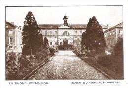 TIENEN - TIRLEMONT (3300) - SANTE - GEZONDHEID : Burgerlijk Hospitaal - Hopital Civil. CPA. - Tienen