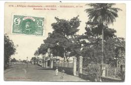 ///  CPA - Afrique - GUINEE - KONAKRY - Avenue De La Gare   // - Guinée