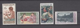 French Polynesia 1958,4V,paintings,schilderijen,gemälde,peintures,pinturas,quadri,,READ/LEES,MNH/Postfris(D2204 - Ongebruikt