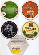 GERMANY BEER Tablemat, Tray, Salver - PAULANER , EAHTER  Lot -KAS 7 - 231 - 12,12,2017 ) - Bier