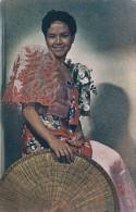 Phiippines Filipina Girl In Balintawak Dress - Philippines